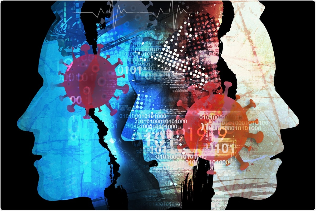 Проучване: Разпространение на психични разстройства сред популации, повлияни от пандемиите на коронавирус: Многостепенно метааналитично проучване на COVID-19, MERS & SARS. Кредит за изображение: jiris / Shutterstock